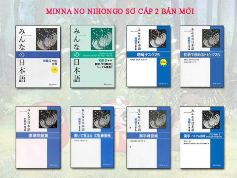 Minna sơ cấp 2 bản mới trọn bộ