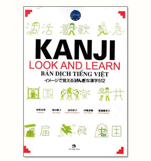 Kanji Look and Learn 512 SGK Bản Tiếng Việt