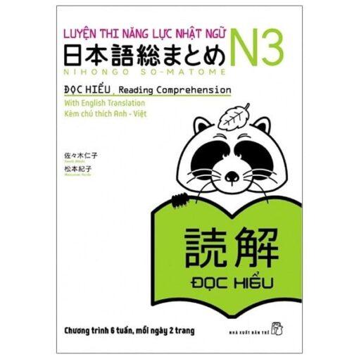 Soumatome N3 Đọc Hiểu Bản tiếng Việt