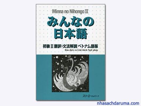 Minna sơ cấp 2 bản dịch và giải thích ngữ pháp