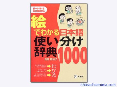 E DE WAKARU NIHONGO TSUKAIWAKE JITEN 1000