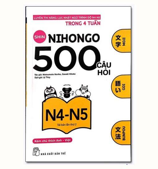 Shin Nihongo 500 Câu hỏi N4 5