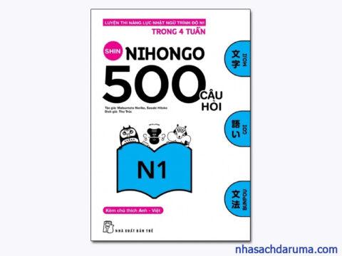 Shin Nihongo 500 Câu hỏi N1