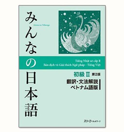 Minna No Nihongo 2 bản tiếng việt