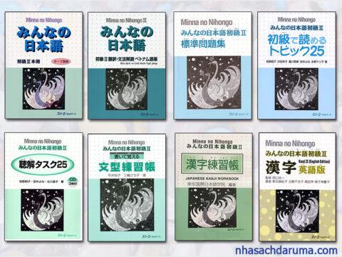 Trọn bộ Minna No Nihongo Sơ cấp 2