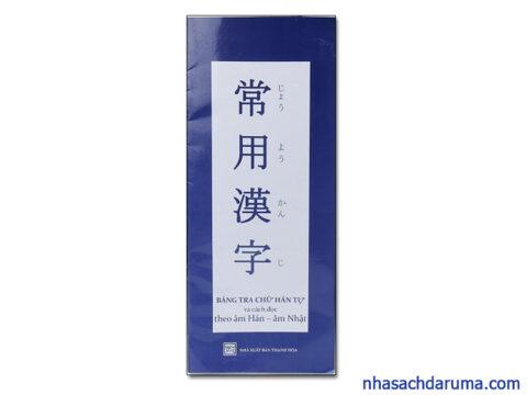 Bảng tra Hán Tự của Đỗ Thông Minh