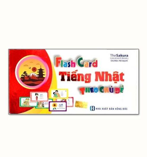 Hộp Flash Card Tiếng Nhật Theo Chủ Đề