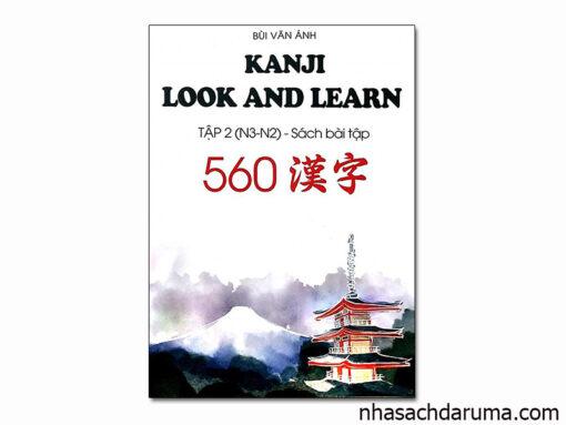 Kanji Look and Learn 560 Bài Tập