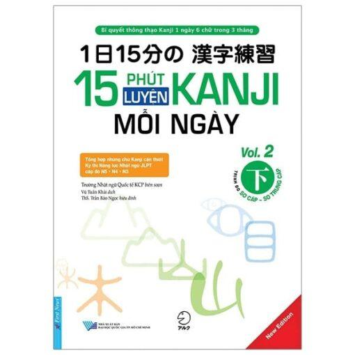 15 Phút luyện Kanji mỗi ngày tập 2
