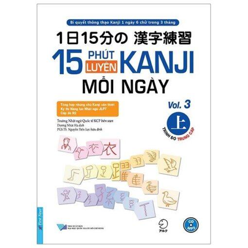 15 Phút luyện Kanji mỗi ngày tập 3