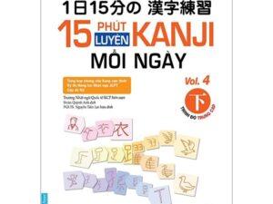 15 Phút luyện Kanji mỗi ngày tập 4