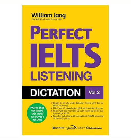 Perfect IELTS Listening Dictation Vol 2
