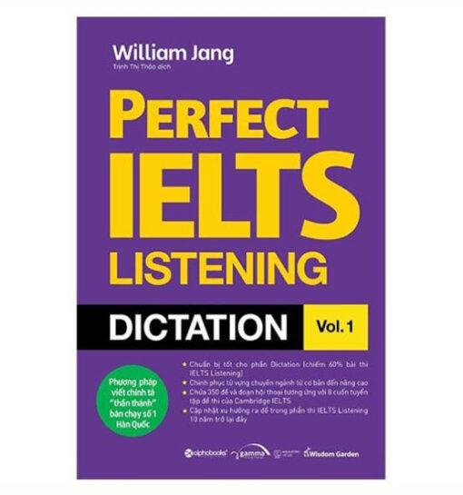Perfect ielts listening dictation vol 1