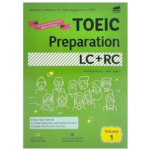 Toeic preparation lc+rc volume 1