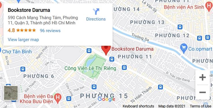 bản đồ đến nhà sách