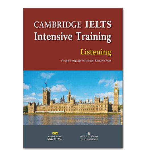 Cambridge ielts intensive training listening